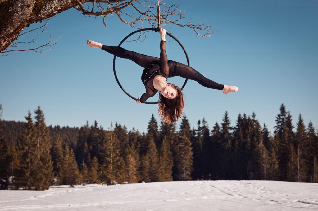 cvičení v kruhu